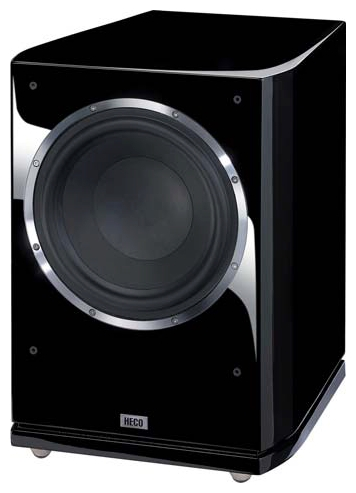 Сабвуферы  Сабвуфер Heco CELAN GT SUB 322A High-gloss black
