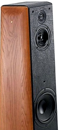 Полочная акустика SONUS FABER TOY SPEAKER Barred Leather BLACK
