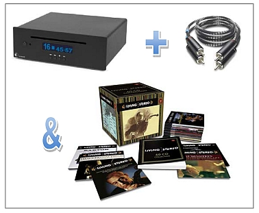 CD проигрыватель Pro-Ject CD Box DS SuperPack