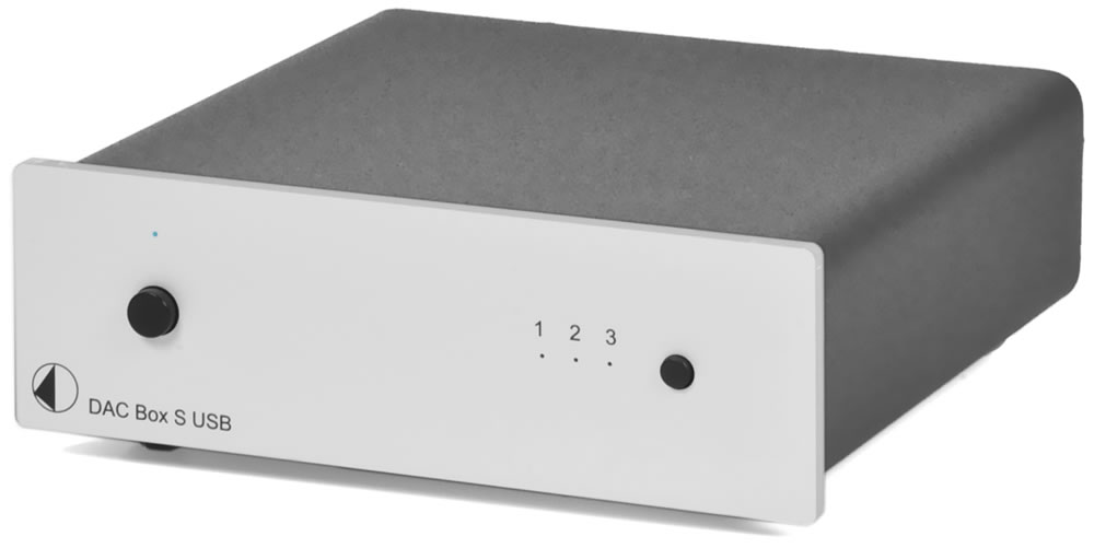 ЦАП Pro-Ject DAC BOX S USB Silver