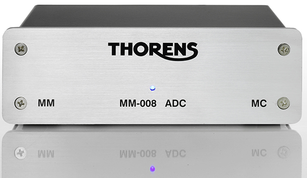 Фонокорректор Thorens MM 008ADC silver  (MM/MC)
