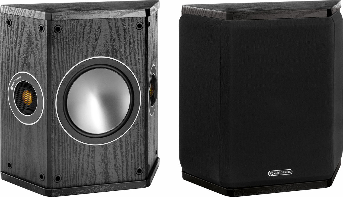 Полочная акустика Monitor Audio BRONZE FX Black Oak