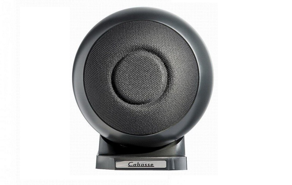 Cabasse IO 2 on wall/base version Glossy Black