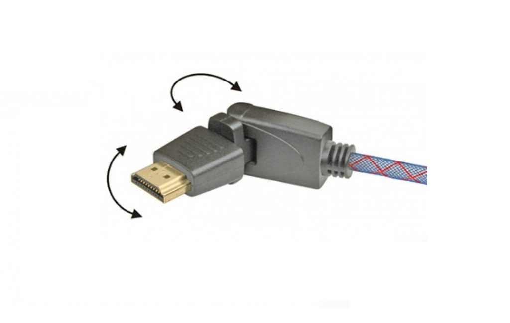 HDMI кабели Real Cable  HD-E-360 (HDMI-HDMI) 1.4 3D Ethernet  2M00
