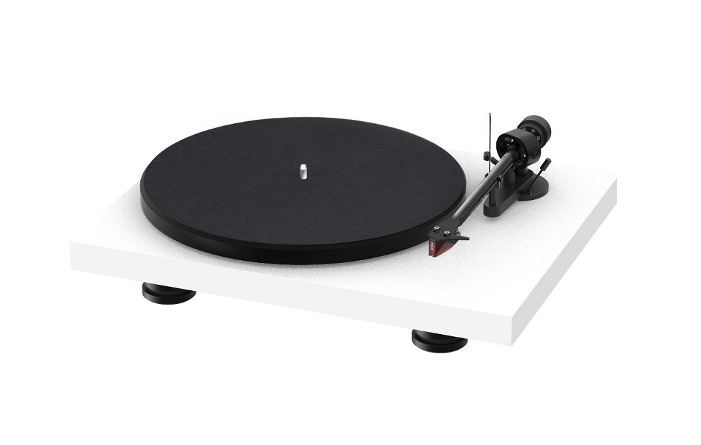 Проигрыватель винила Pro-Ject Debut Carbon EVO 2M-Red High Gloss White
