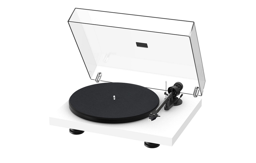 Проигрыватель винила Pro-Ject Debut Carbon EVO 2M-Red Satin White